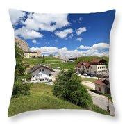 Passo Gardena - Gardena Pass Throw Pillow