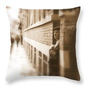 Past And Future Throw Pillow