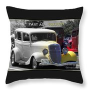 Past And Present Classic Throw Pillow