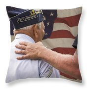 Past Commander Throw Pillow