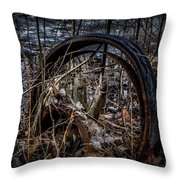 Past Its Use Throw Pillow