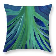 Past Lives By Jrr Throw Pillow