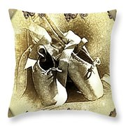 Past The Pointe Throw Pillow