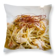 Pasta Food Throw Pillow