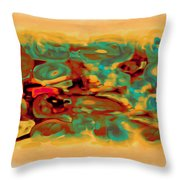 Pastel 5 Throw Pillow