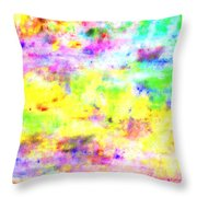 Pastel Abstract Patterns I Throw Pillow