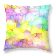 Pastel Abstract Patterns IIi Throw Pillow