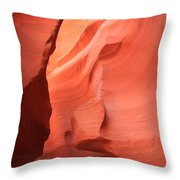 Pastel Flames Throw Pillow