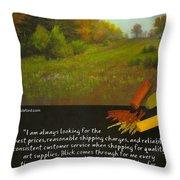 Pastel Journal Throw Pillow by David Patterson