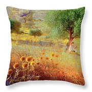 Pastelero Spain Throw Pillow