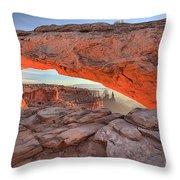 Pastels At Canyonlands Throw Pillow