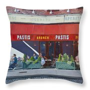 Pastis Throw Pillow by Anthony Butera