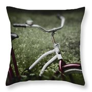 Pasttime Throw Pillow