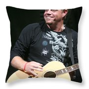 Pat Green  Throw Pillow