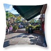 Pat O'brien's Bar  Throw Pillow