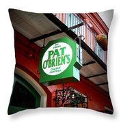 Pat O's Throw Pillow