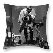 Pat Patrick 1968 Throw Pillow by Lee  Santa