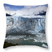 Patagonia Glaciar Perito Moreno 4 Throw Pillow