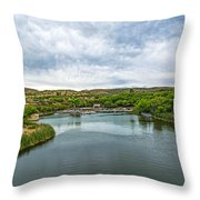 Patagonia Lake State Park Throw Pillow