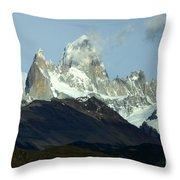 Patagonia Mount Fitz Roy 1 Throw Pillow