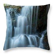 Patapsco Waterfall Throw Pillow
