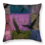Patched Quilt Throw Pillow