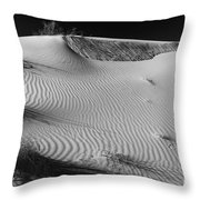 Patches In The Dunes Throw Pillow