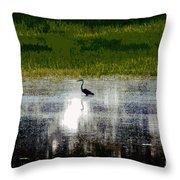 Patches Of Pretty Throw Pillow