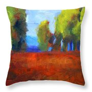 Patching The Environment Throw Pillow