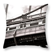 Patco Throw Pillow by Olivier Le Queinec