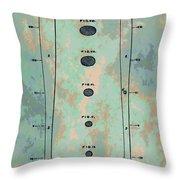 Patent Art Baseball Bat Throw Pillow