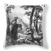 Patent Medicine, 1861 Throw Pillow