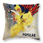 Patent Medicine Ad, 1894 Throw Pillow