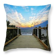 Path 2 Throw Pillow