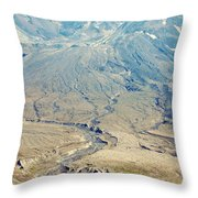 Path Of Destruction Throw Pillow