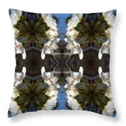 Path Of Flowers 1 Throw Pillow
