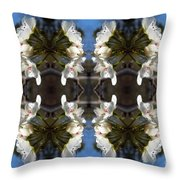 Path Of Flowers 2 Throw Pillow