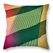 Path Of Shadows Throw Pillow by Wendy J St Christopher