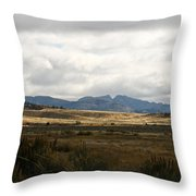 Path Of The Pioneers - Split Rock - Jeffrey City - Wyoming Throw Pillow