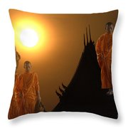 Path To Enlightenment Throw Pillow
