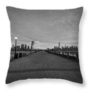 Path To Manhattan Throw Pillow