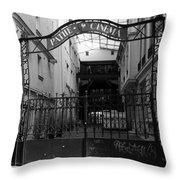 Pathe French Film School Throw Pillow