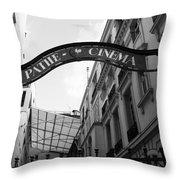 Pathe Throw Pillow