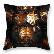 Paths Of Pain Throw Pillow