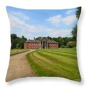 Pathway To Adlington Hall Throw Pillow