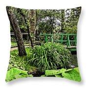 Bridge To Beauty Throw Pillow
