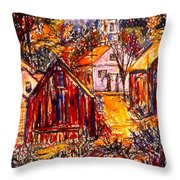 Pathway To Color Throw Pillow