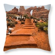 Pathway To Portals Throw Pillow