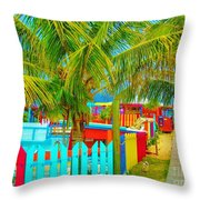 Pathway To Rum Throw Pillow
