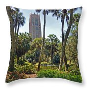 Pathway To The Tower Throw Pillow